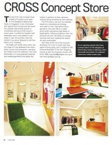 CROSS - GolfAsia Article